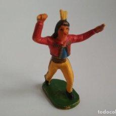 Figuras de Goma y PVC: RARO INDIO AÑOS 50. Lote 150303886
