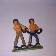 Figuras de Goma y PVC: FIGURA JECSAN PVC PLÁSTICO ROMA GLADIADORES. Lote 150434422