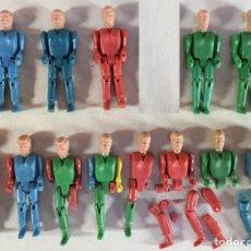 Figuras de Goma y PVC: 13 MUÑECOS MONTAMAN MONTAPLEX. Lote 150485742