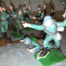 Figuras de Goma y PVC: LOTE SOLDADOS ALEMANES DE OLIVER PECH. Lote 150497878