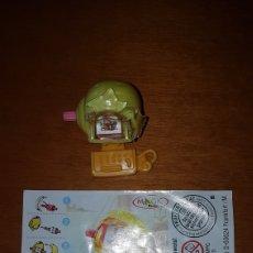 Figuras Kinder: FIGURA KINDER CARACOLES PIRATAS PIRATA SECUNDARIA S-15 +BPZ ALEMÁN MUÑECO SORPRESA HUEVO PREMIUM. Lote 150505230
