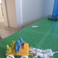 Figuras de Goma y PVC: ANTIGUA BOMBA DE BOMBEROS. Lote 150537962