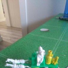 Figuras de Goma y PVC: ANTIGUA BOMBA DE BOMBEROS. Lote 150538246