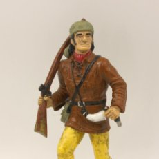 Figuras de Goma y PVC: FIGURA DAVY CROCKET - HEROES OF THE WEST - COMANSI - CROCKETT. Lote 194729600