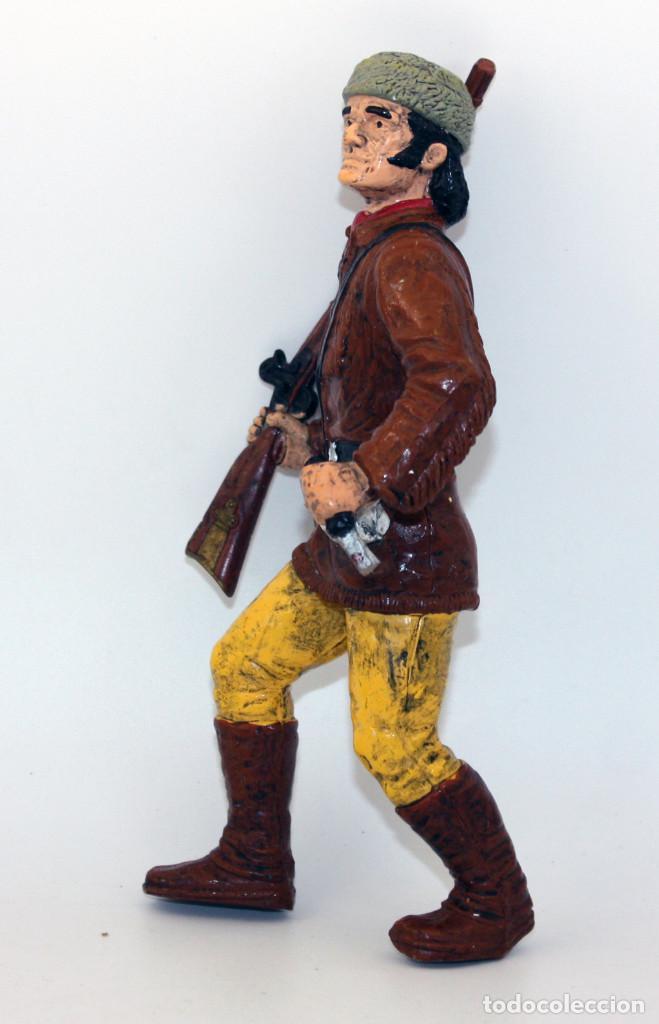 Figuras de Goma y PVC: FIGURA DAVY CROCKET - HEROES OF THE WEST - COMANSI - CROCKETT - Foto 2 - 194729600