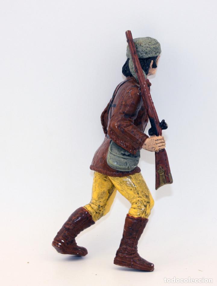Figuras de Goma y PVC: FIGURA DAVY CROCKET - HEROES OF THE WEST - COMANSI - CROCKETT - Foto 3 - 194729600