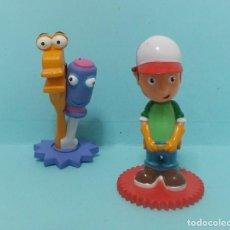 Figuras de Goma y PVC: MANNY MANITAS Y SUS HERRAMIENTAS (HANDY MANNY). Lote 150547690