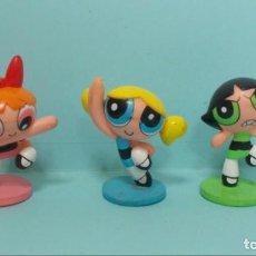Figuras de Goma y PVC: SUPERNENAS. Lote 150549718