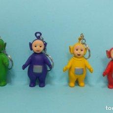 Figuras de Goma y PVC: TELETUBBIES - FIGURAS PVC CON LLAVERO. Lote 150549790