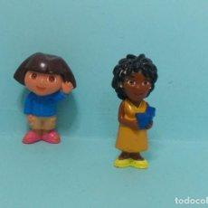 Figuras de Goma y PVC: DORA LA EXPLORADORA - 2 FIGURAS. Lote 150550638