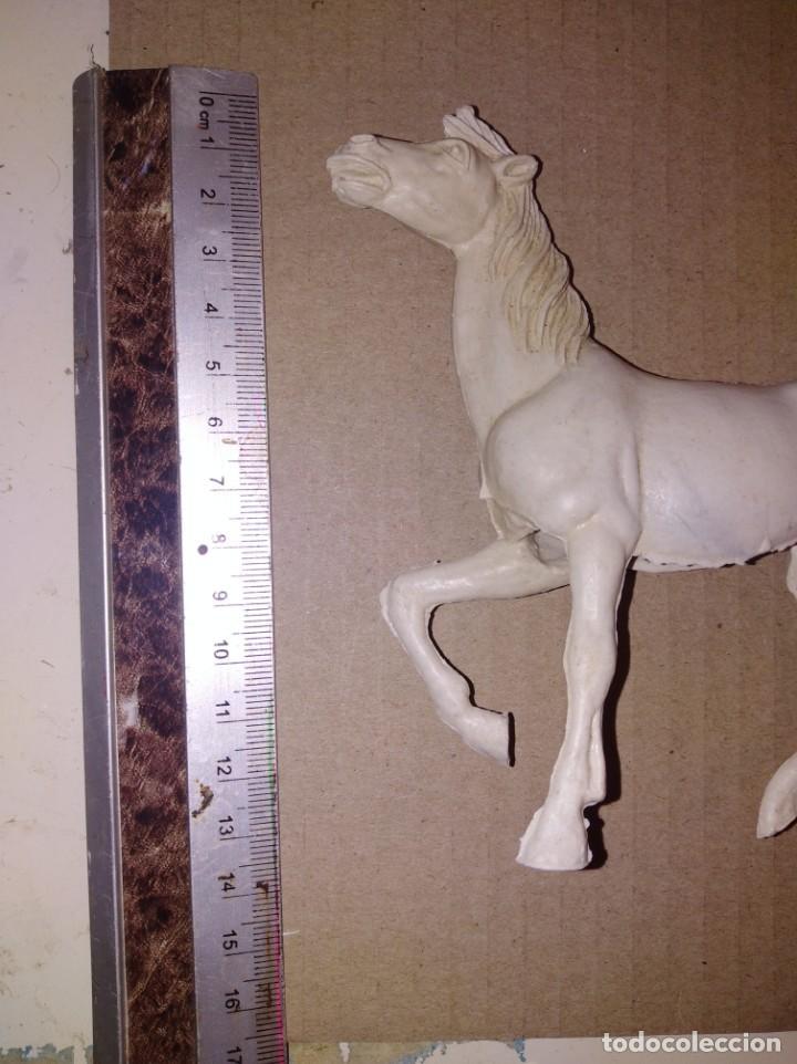 Figuras de Goma y PVC: Pareja de caballos tamaño grande comansi lafredo - Foto 3 - 150550866
