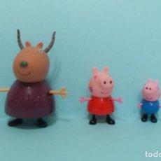 Figuras de Goma y PVC: PEPPA PIG - CON AMIGOS. Lote 150550898