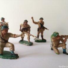 Figuras de Goma y PVC: LOTE 5 FIGURAS PECH, REAMSA, ESTEREOPLAST, JECSAN, COMANSI. AÑOS 60. Lote 150552910