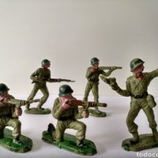 Figuras de Goma y PVC: LOTE 5 FIGURAS, PECH, REAMSA, ESTEREOPLAST, JECSAN, COMANSI. Lote 150556613