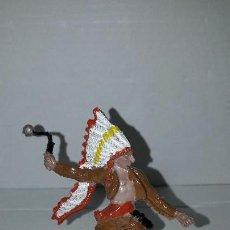 Figuras de Goma y PVC: OLIVER. INDIO (9). AÑOS 80. PECH. Lote 150586398