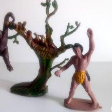 Figuras de Goma y PVC: TARZAN Y CHITA DE M. SOTORRES.. Lote 150611244