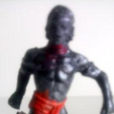 Figuras de Goma y PVC: FIGURA DE NEGRO COLECCIÓN SAFARI DE JECSAN.. Lote 150612148