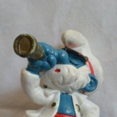Figuras de Goma y PVC: FIGURA PITUFO CON CATALEJO. SCHLEICH GERMANY. Lote 150615626