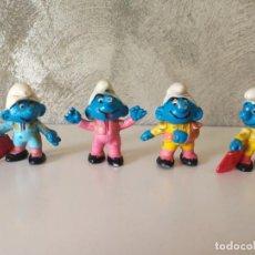 Figuras de Goma y PVC: LOTE PITUFOS TOREROS . Lote 150616370