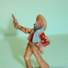 Figuras de Goma y PVC: FIGURA DEL OESTE. MARCA LAFREDO. VAQUERO. COW-BOY. AÑOS 60. ESPAÑA. 6 CM ALTO.. Lote 150644370