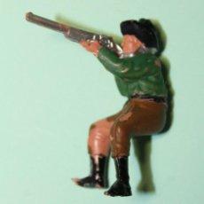 Figuras de Goma y PVC: FIGURA DEL OESTE. MARCA REAMSA. VAQUERO. COW-BOY. JINETE. AÑOS 60. ESPAÑA. 5 CM ALTO.. Lote 150645498