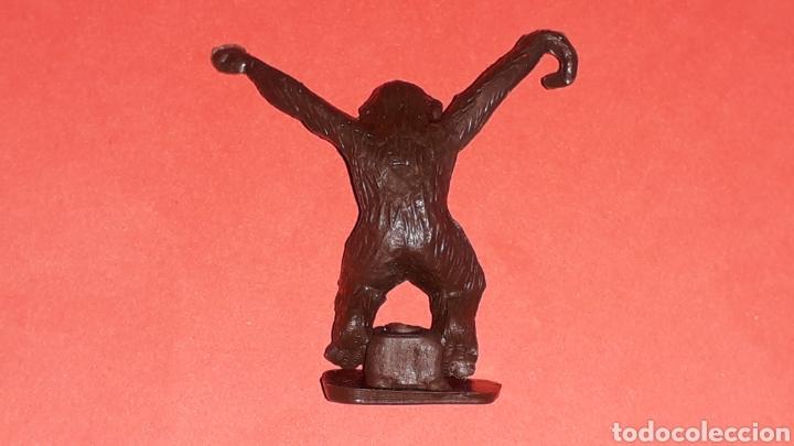 Figuras de Goma y PVC: Mono Mona Chita Cheeta, serie Tarzan Jungla, plástico Sotorres compatible Madelman, original años 60 - Foto 3 - 150659002