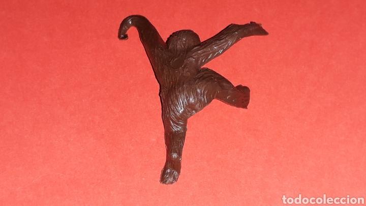 Figuras de Goma y PVC: Mono Mona Chita Cheeta, serie Tarzan Jungla, plástico Sotorres compatible Madelman, original años 60 - Foto 3 - 150659294