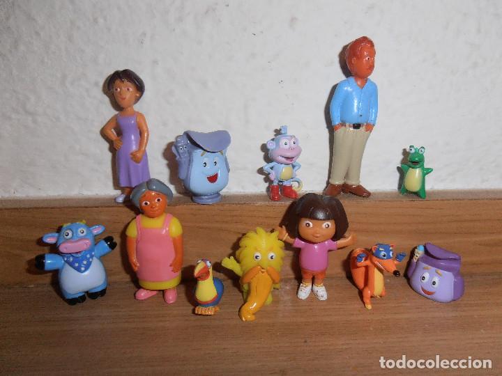 FIGURAS DE PVC DORA EXPLORADORA (Juguetes - Figuras de Goma y Pvc - Otras)