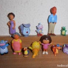 Figuras de Goma y PVC: FIGURAS DE PVC DORA EXPLORADORA. Lote 150813890