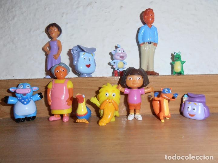 Figuras de Goma y PVC: FIGURAS DE PVC DORA EXPLORADORA - Foto 4 - 150813890