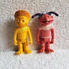 Figuras de Goma y PVC: DOS FIGURAS DE LOS LUNNIS - 6.5.CM ALTO - GOMA Y PVC. Lote 150831210