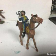Figuras de Goma y PVC: FIGURA CABO RUSTY COMANSI PRIMERA EPOCA YANKEE ANTIGUO SEPTIMO CABALLERIA . Lote 150851482