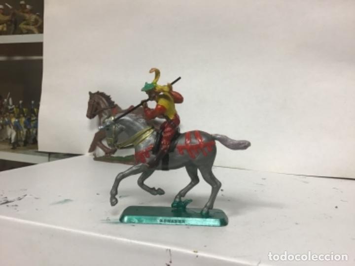 Figuras de Goma y PVC: FIGURA MEDIEVAL HISTOREX ELASTOLIN SERIE PEQUEÑA 4 cm exin castillos - Foto 2 - 150851702