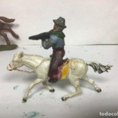 Figuras de Goma y PVC: FIGURA GOMA VAQUERO MAIRZA AÑOS 50 COWBOY OESTE AÑOS PECH HERMANOS JECSAN REAMSA 50 WESTERN. Lote 150851942