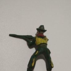 Figuras de Goma y PVC: FIGURA JINETE VAQUERO MAIRZA GOMA. Lote 151030758