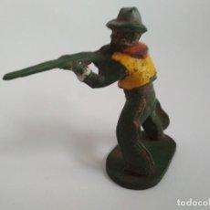 Figuras de Goma y PVC: FIGURA VAQUERO MAIRZA GOMA. Lote 151030958