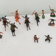 Figuras de Goma y PVC: VAQUEROS FORT APACHE . Lote 151129750