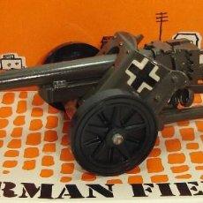 Figuras de Goma y PVC: ANTIGUO CAÑON MILITAR GERMAN FIELD GUN BRITAINS LTD ESCALA 1:32. Lote 151209182