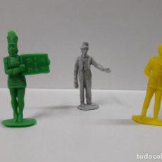 Figuras de Goma y PVC: DIFERENTES PERSONAJES - SERIE CIRCO . REALIZADOS POR JECSAN . AÑOS 60 / 70 EN PLASTICO MONOCOLOR. Lote 151293498
