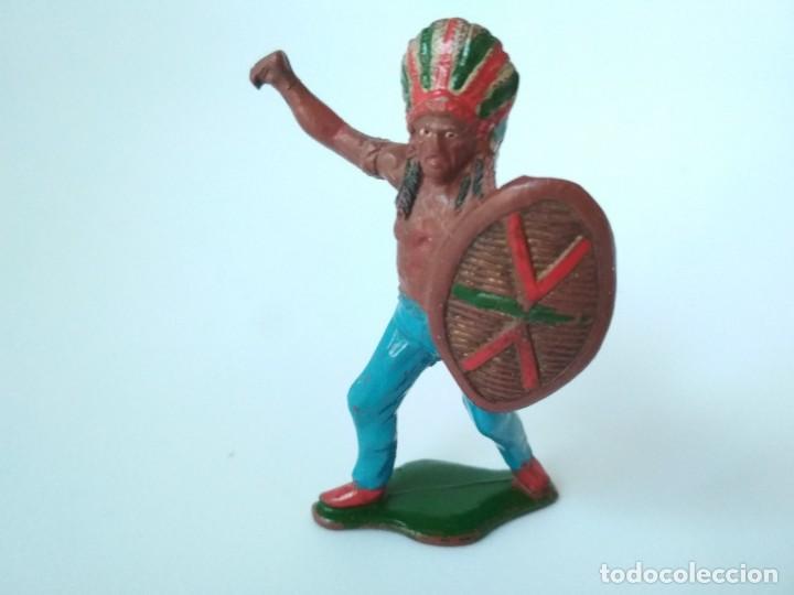 FIGURA INDIO TEIXIDO GOMA (Juguetes - Figuras de Goma y Pvc - Teixido)