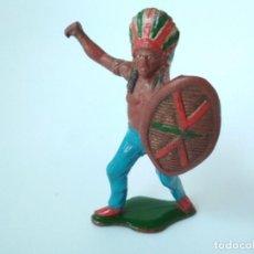 Figuras de Goma y PVC: FIGURA INDIO TEIXIDO GOMA. Lote 151331270