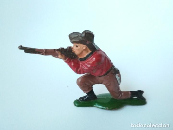 FIGURA VAQUERO GOMA TEIXIDO (Juguetes - Figuras de Goma y Pvc - Teixido)