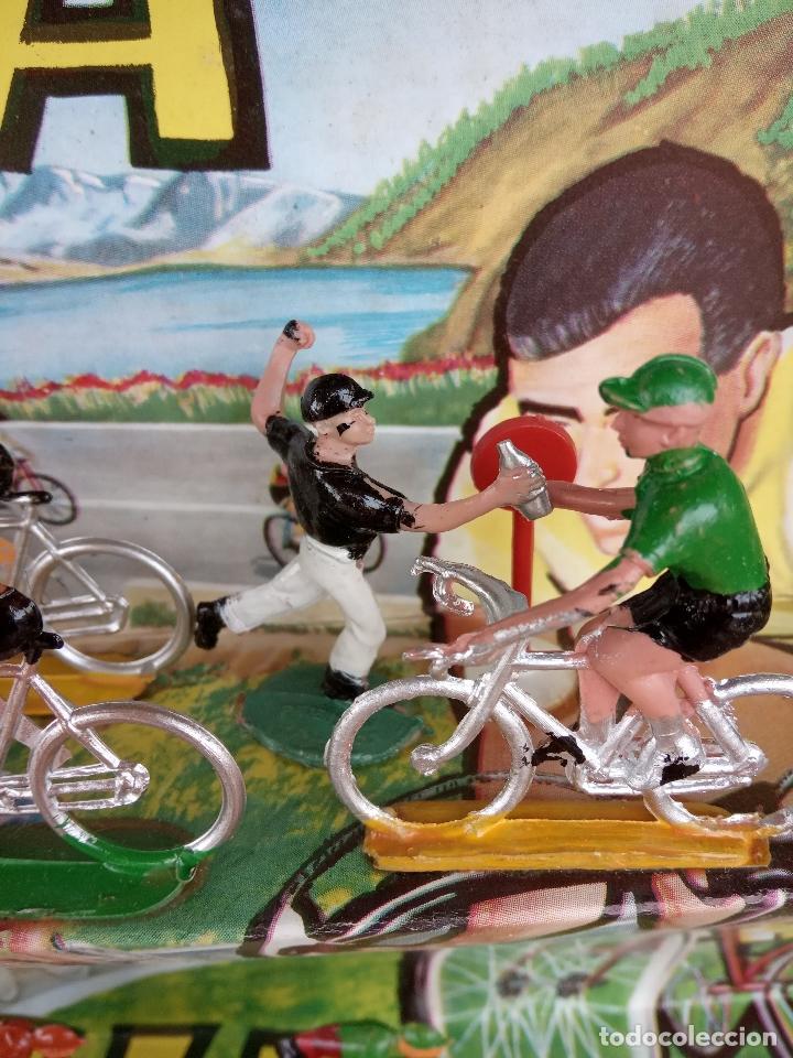 Figuras de Goma y PVC: Caja Vuelta Ciclista a España, años 60. - Foto 6 - 151390954