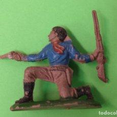 Figuras de Goma y PVC: JECSAN COWBOY DE GOMA, 50 MM. . Lote 151407714