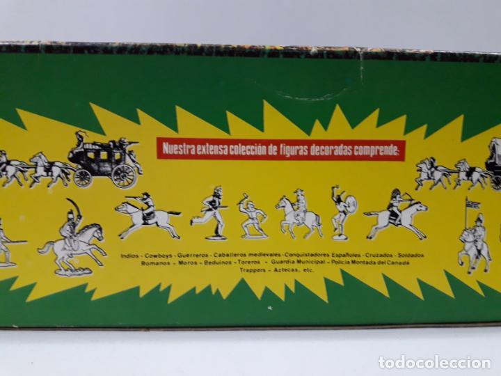 Figuras de Goma y PVC: CAJA ORIGINAL RUMBO AL OESTE . REALIZADA POR REAMSA . AÑOS 60 - Foto 17 - 151408918
