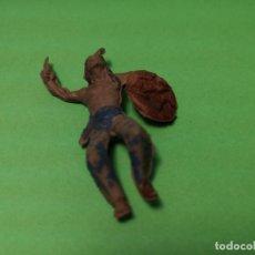 Figuras de Goma y PVC: JECSAN INDIO DE GOMA, 50 MM. . Lote 151415654