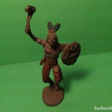 Figuras de Goma y PVC: JECSAN INDIO DE GOMA, 50 MM. . Lote 151415982