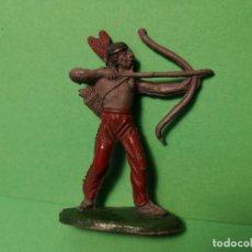 Figuras de Goma y PVC: JECSAN INDIO DE GOMA, 60 MM.. Lote 151413678