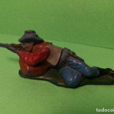 Figuras de Goma y PVC: TEIXIDO COWBOY DE GOMA. Lote 151426726