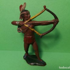Figuras de Goma y PVC: TEIXIDO INDIO DE GOMA. Lote 151427190